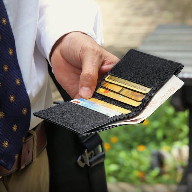 Billetera delgada para hombres